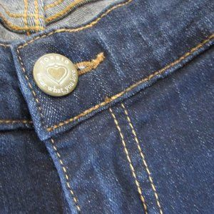 torrid Jeans - Torrid Relaxed Boot dark wash distress fading jean